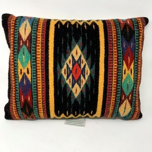 NWT Zapotec Hand Woven Wool Pillow